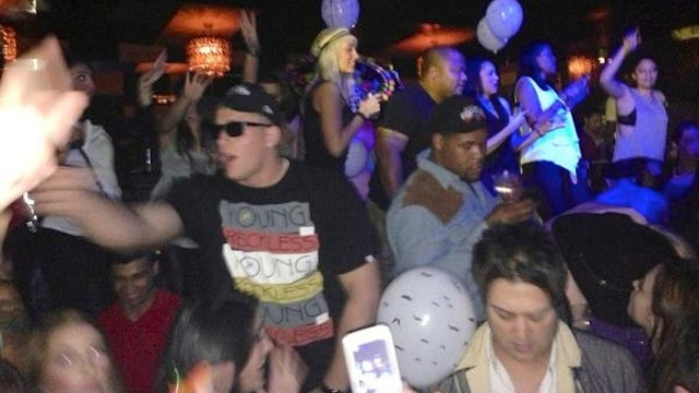 Here Are Some Photos Of J.J. Watt Bro-ing Down At The Club