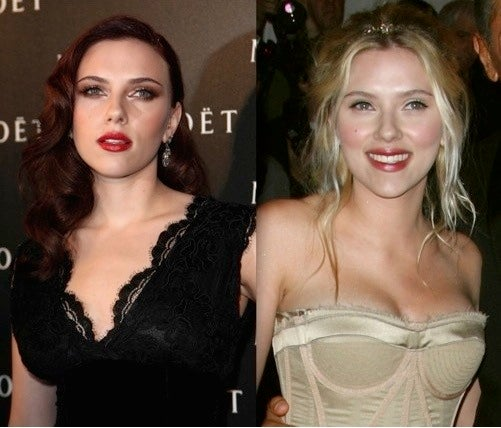 Scarlett Johansson Deflates
