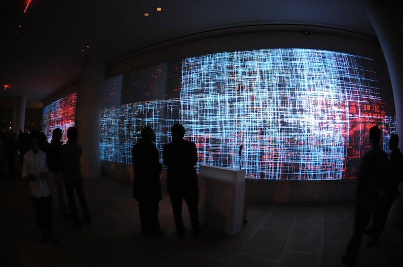 120 Feet of Video Art: Final Exams at NYU's Big Screens Class