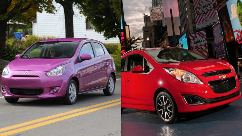 Who Bought All These Chevy Sparks And Mitsubishi Mirages In March?