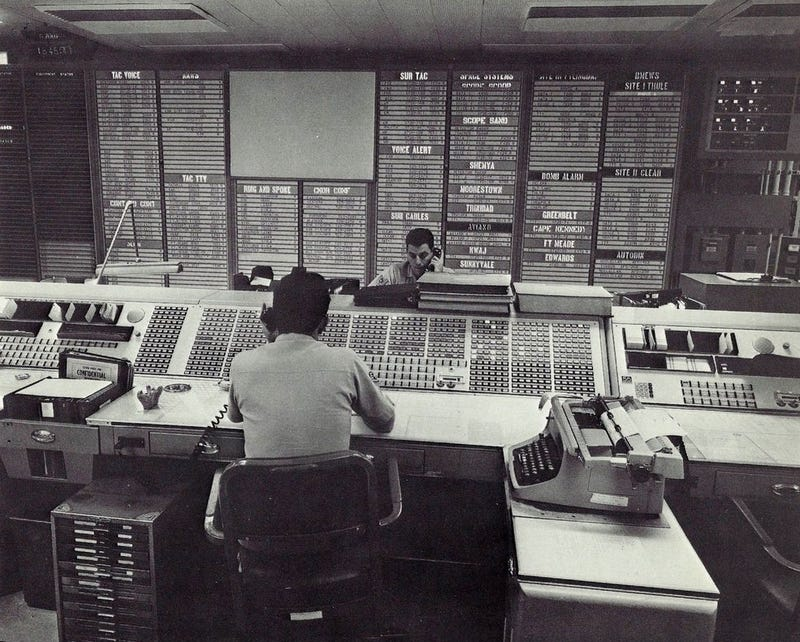 Rare Photos From Inside NORAD Will Give You Retro-Armageddon Nostalgia
