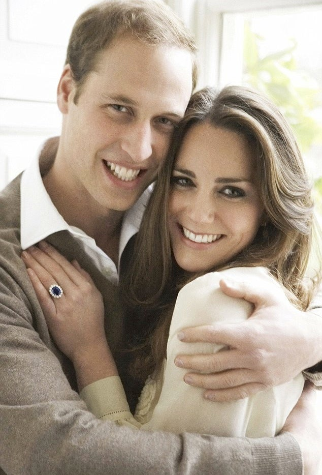 Let's Ooh and Aah Over William and Kate's Engagement Pictures