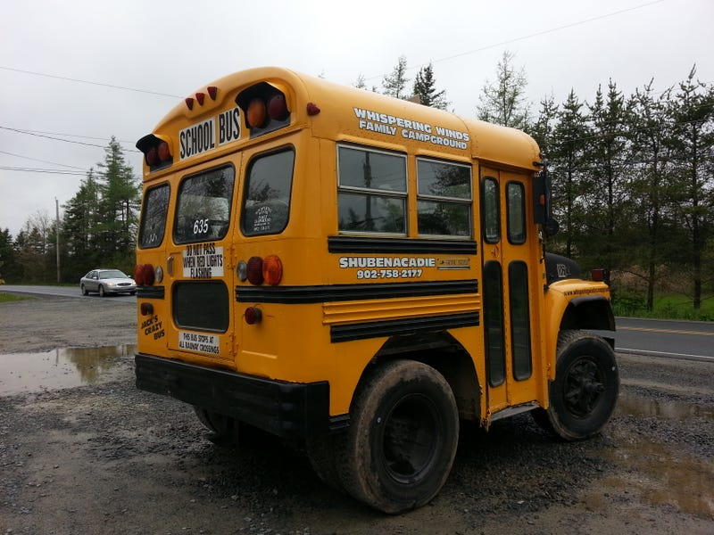 This is not a 'shop. Short bus is short.