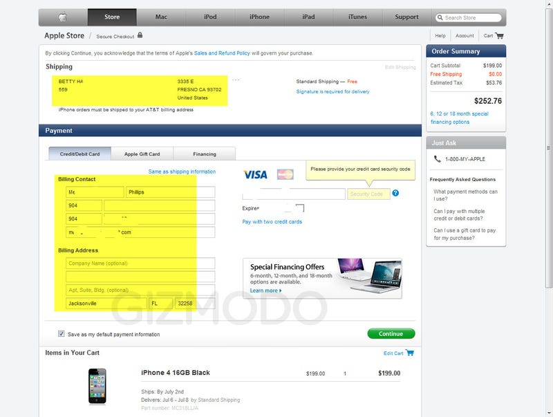 iPhone 4 Disaster: Orders Charged and Sent to the Wrong People