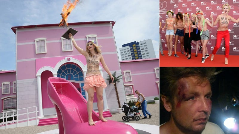 The Man Behind FEMEN Is No Friend of the Movement