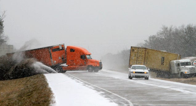 The Most Righteous Picture Of The Southern Winter Traffic Mess
