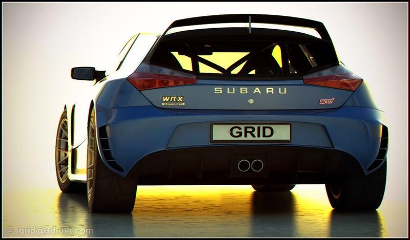 Independent Subaru WRX STI Concept Looks Fast, Stylish
