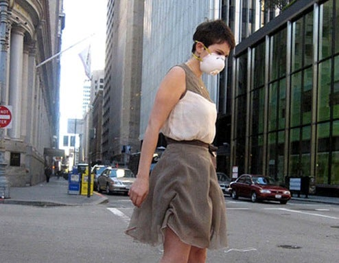 EPA Dress Wrinkles Up to Show it's a Bad Air Day