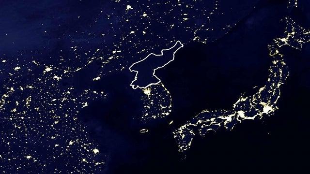 Perhaps the Most Striking Photo Taken in North Korea Last Year