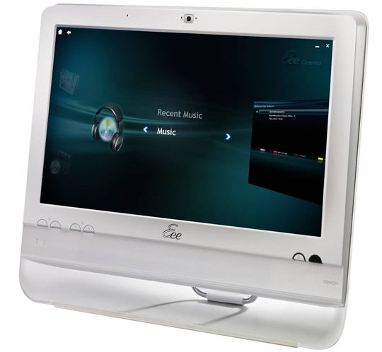 Asus Eee Top Fingers-On Shows Good All-In-One Touch PC