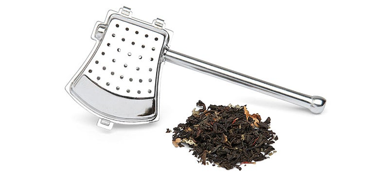 An Axe-Shaped Tea Strainer, Because Even Lumberjacks Need a Break