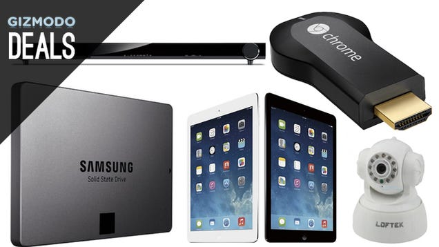 Upgrade to SSDs, 10TB of Storage, Save on iPad Airs [Deals]