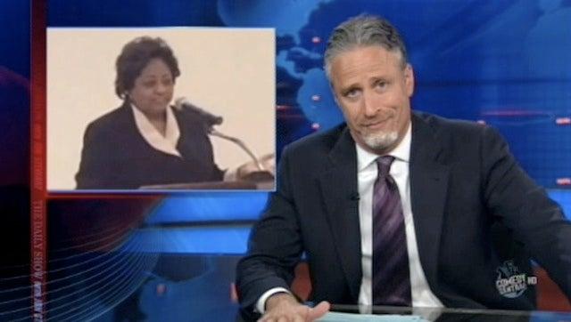 Jon Stewart Unveils New Facial Hair