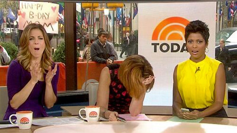 Matt Lauer and Al Roker Had Their Butts Examined Live on Today