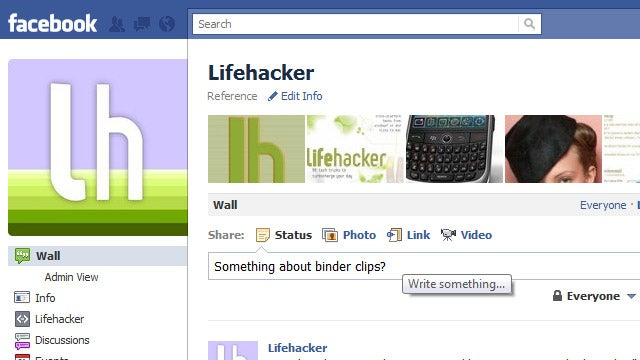Follow Lifehacker and Our Writers on Facebook for The Best Tips and Top Stories in Your News Feed