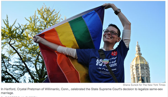 Gay Marriage: Three States Down, 47 Left to Go