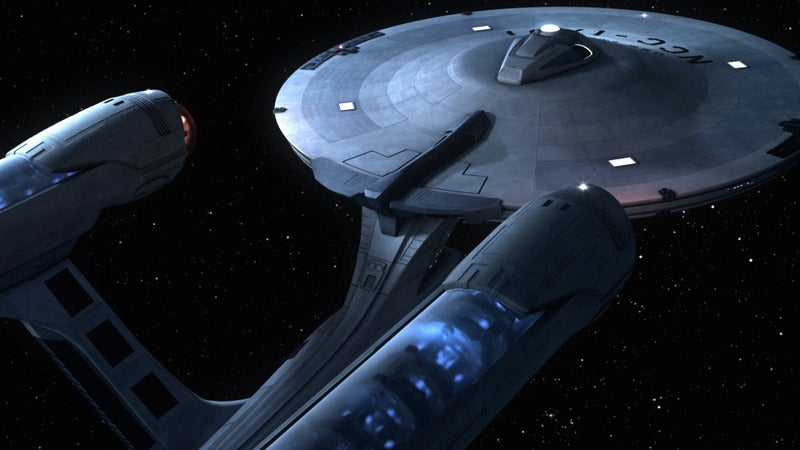 New Old Enterprise Revealed While Star Trek Fans Faint All Over the World [UPDATED]