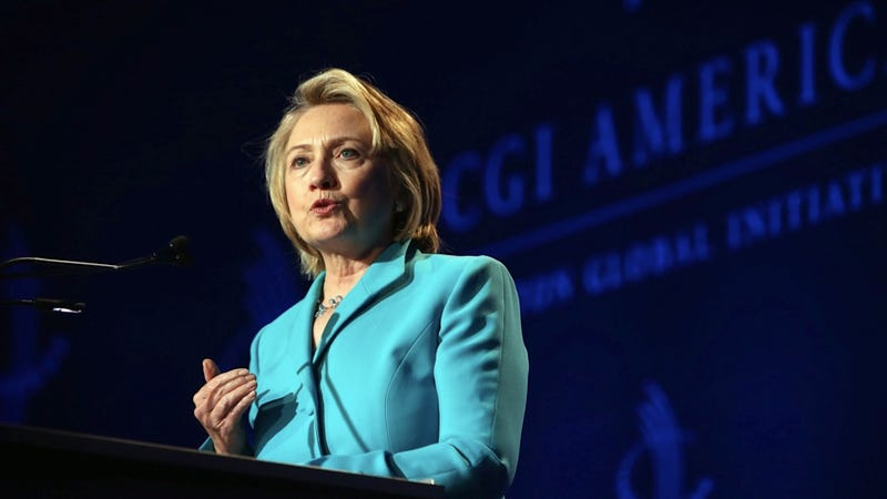 Hypothetically, Hillary Clinton Is For Sure Running for President