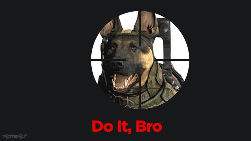 Call Of Duty Dog Must Die, So That We May Live
