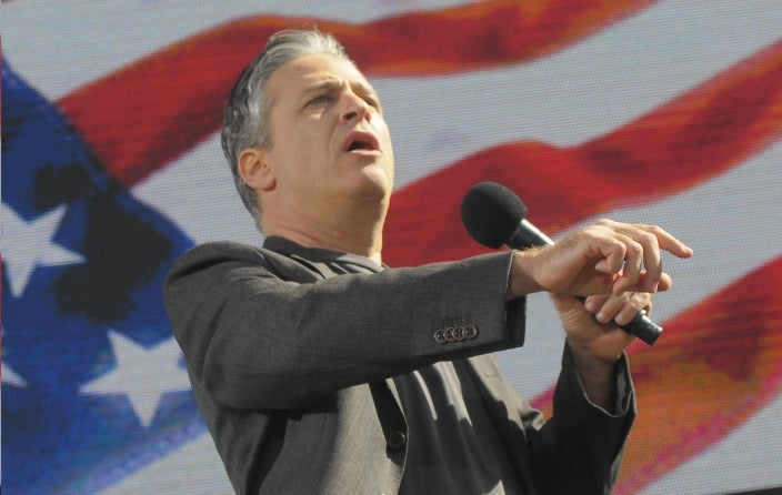 Jon Stewart and The Media: Let's Not All Get Along