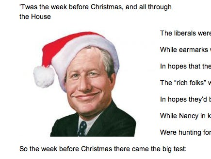 Bill Kristol Waxes Poetic on Christmas, Liberals, and John Boehner