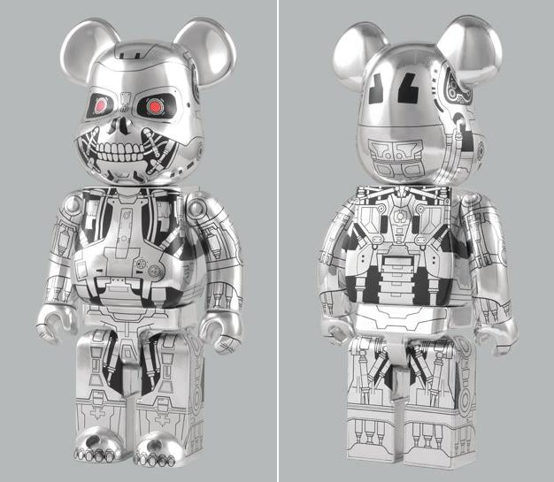 Terminator Bearbrick Will Haunt You Forever and Eat Your Babies