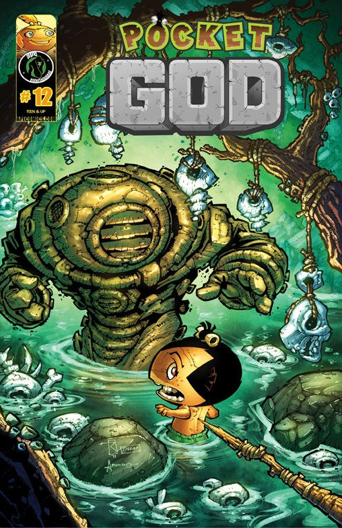 Here's an Exclusive Preview of Pocket God Comics #12