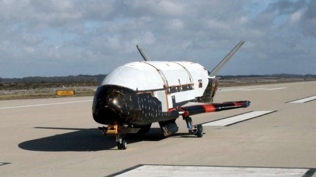 Secret Space Plane Has Solar Stowaway