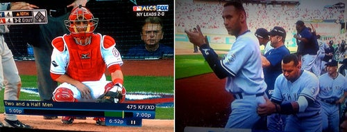 Yes, That Was Pat Sajak And A-Rod Groping Jeter's Buttocks