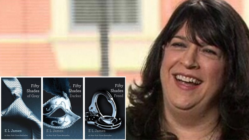 Dear Struggling Novelists: Fifty Shades of Grey Author Currently Making One MILLION Dollars a Week