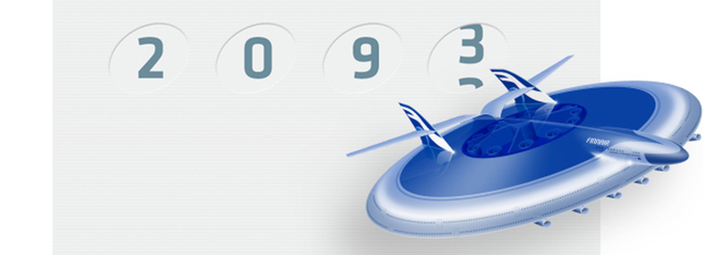 Finnair Shows Us How We'll Fly in 2093