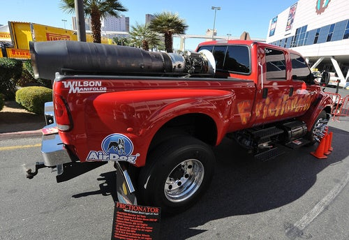 World's Fastest Street Legal Jet Truck Looks Illicit