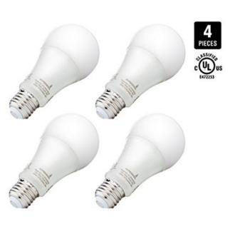 Six LED Light Bulbs 100 watt for Home replacement
