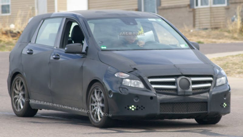 Will This New Mercedes-Benz 'B' Driving Your Drunk Ass Home?
