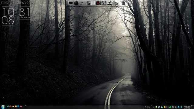 The Foggy Drive Desktop