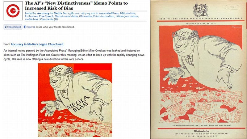 Breitbart Should Probably Stop Posting Nazi-Era Anti-Semitic Cartoon to His Site