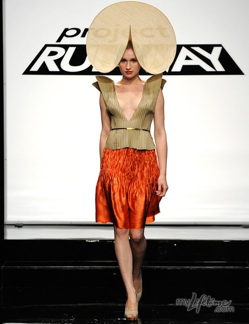 Heavenly Hats Paired With Fugly Frocks On Project Runway