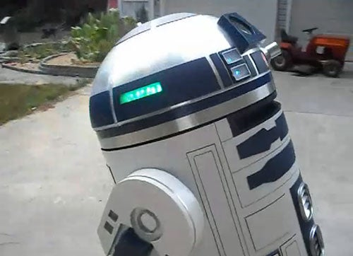 You Can Get Inside This Over-Sized R2-D2 and Drive It
