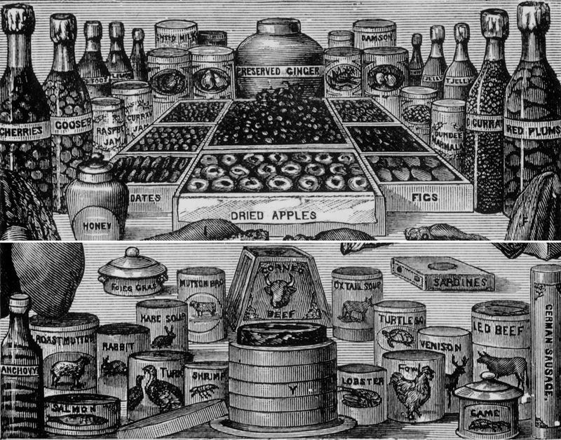 The Evolution of Canned Food and Drink In 38 Pictures