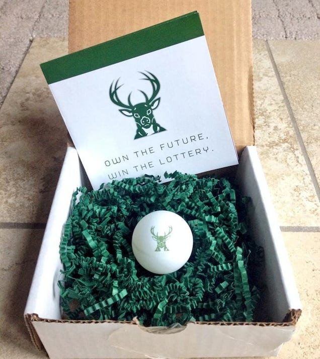Sad NBA Promotion: Bucks Send Ping Pong Balls To Fans