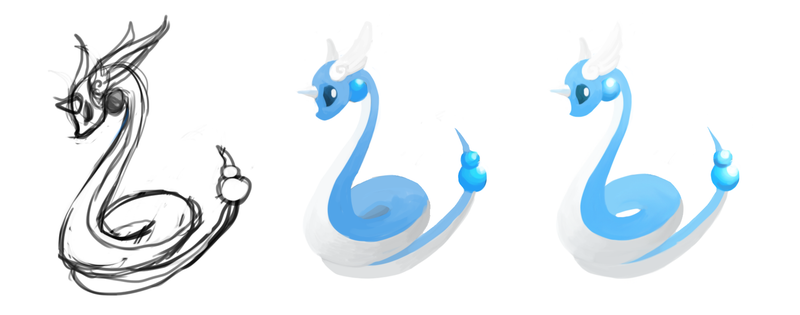 Daenerys' Dragonair! Pokemon One a Day!