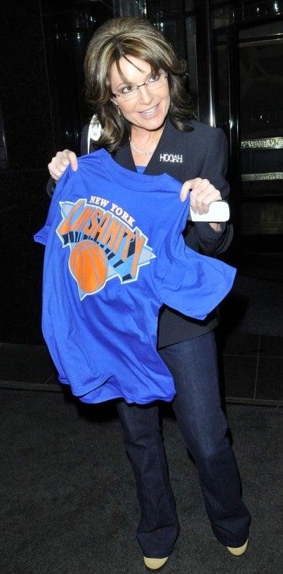 Sarah Palin Has A Bootleg Linsanity T-Shirt