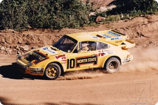 Matti Alamaki's Rallycross Porsche 935 4WD BiTurbo