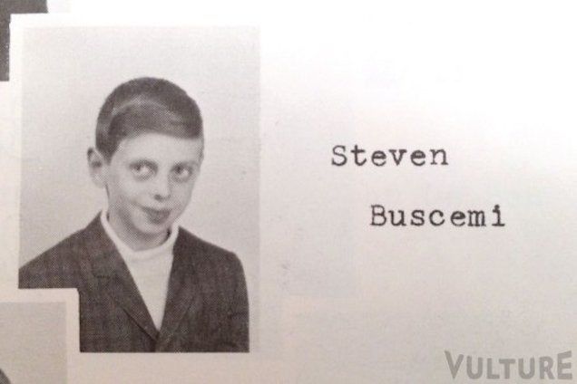 Everyone Look at Steve Buscemi's Weird Grade-School Yearbook Photo