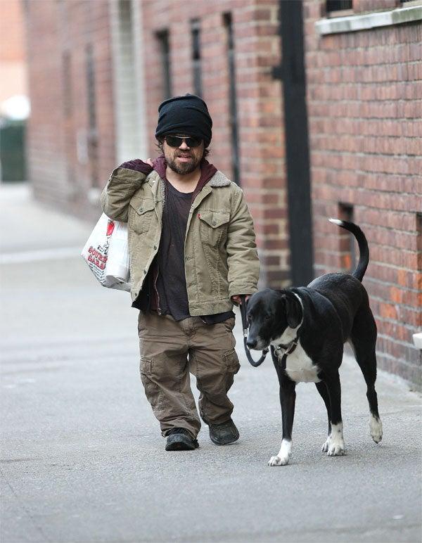 Peter Dinklage's Friend Is Doggone Cute