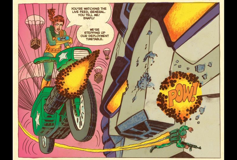 Read This: A Transformers Vs. G.I. Joe Comic That's Fun And... Smart!