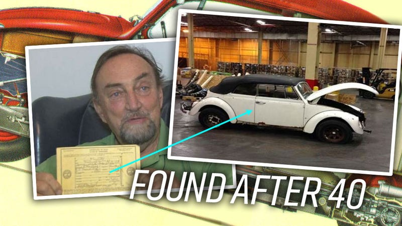 Man's Stolen Beetle Found 40 Years Later