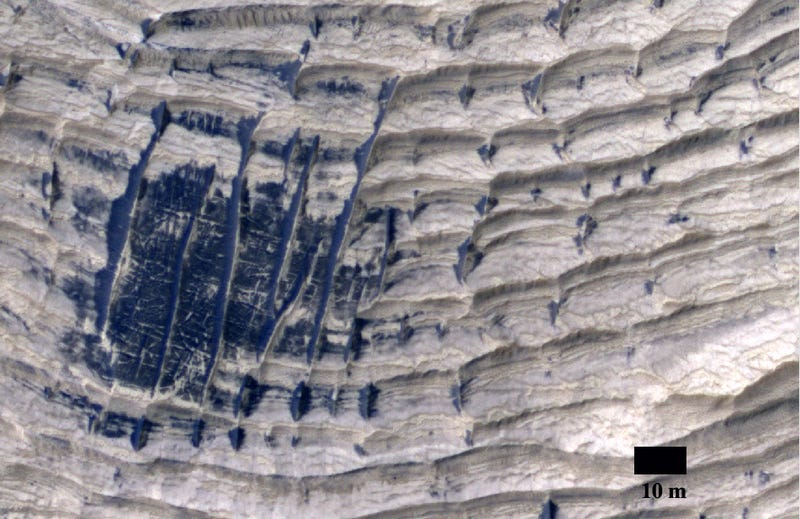 Nobody knows how these mysterious ridges formed on the surface of Mars