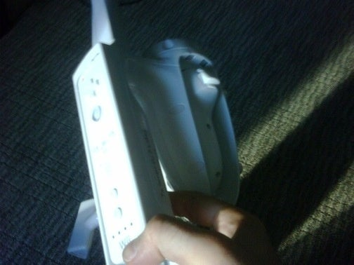 How To Stuff A Wii Nunchuk Into A Fishing Rod