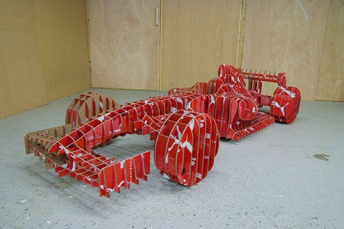 The Formula One Car Made From Shoe Boxes
